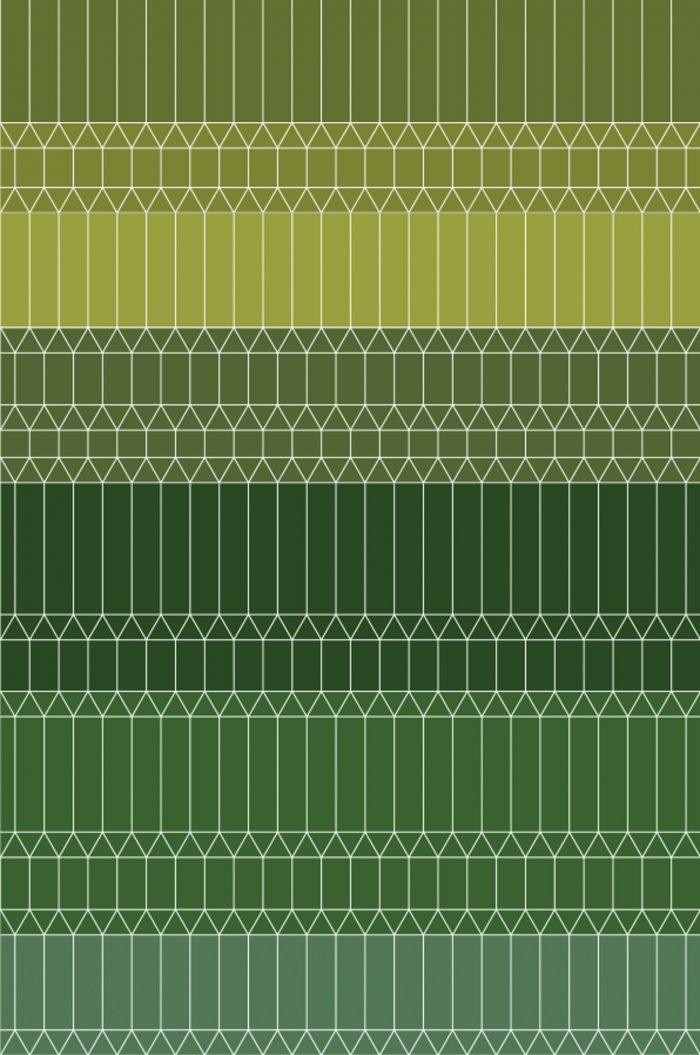 160114- Zigzag Green 2×3