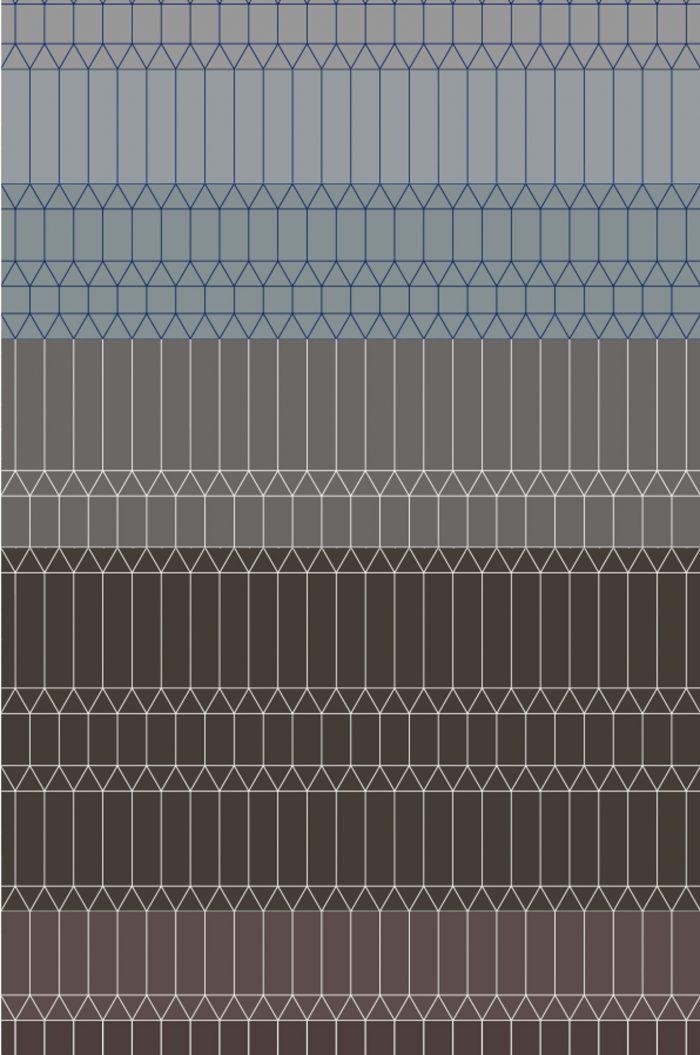 Zigzag Neutral 2×3