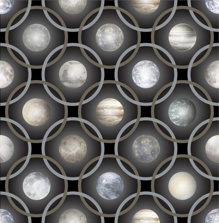 Planetas Black Grey
