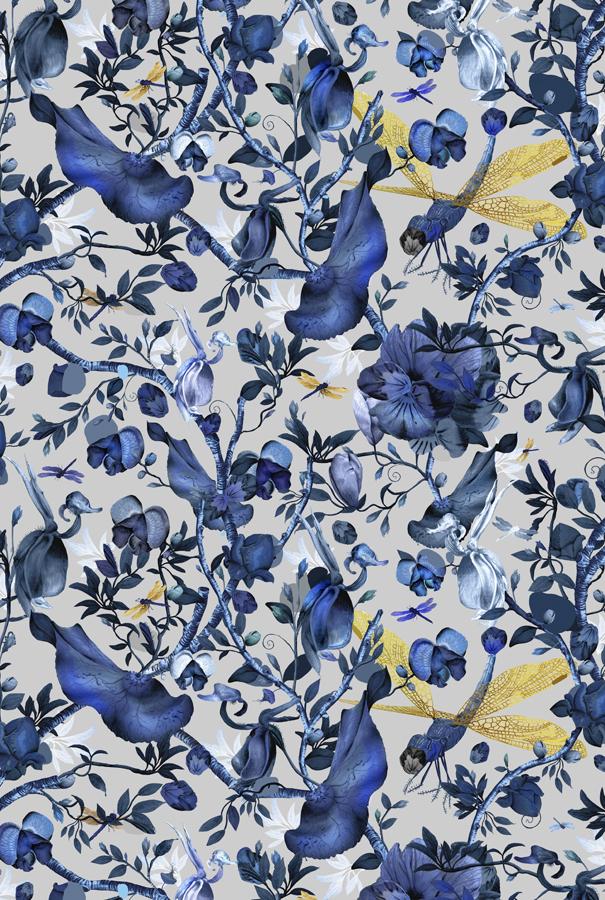Biophillia 200×300 Blue