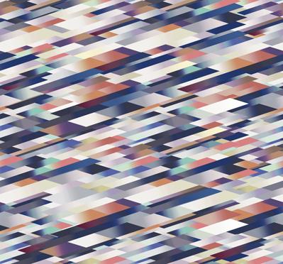 Diagonal Broadloom Blue