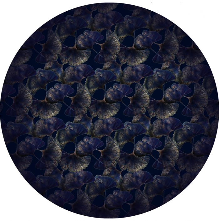 Ginko Leaf Blue 250