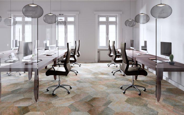 Moooi Carpets Quiet Collection Hexagon Tiles by Moooi