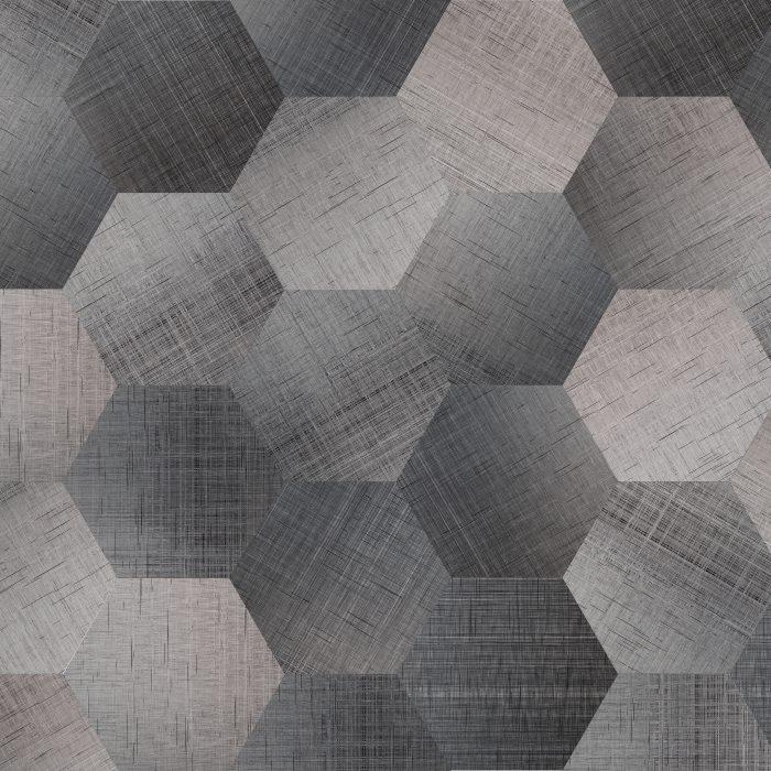 Tiles Canvas Ombre Hexagon