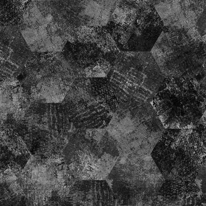 Tiles Erosion Moon Hexagon