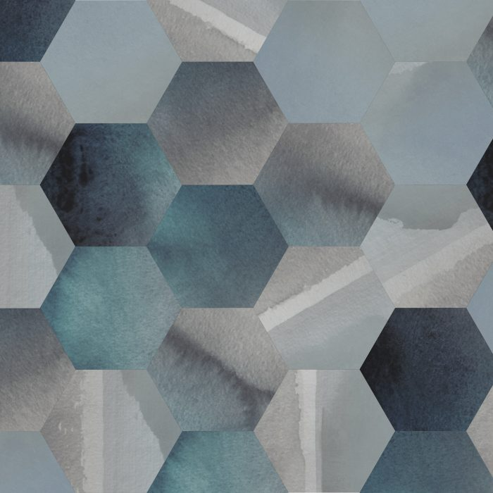 Tiles Horizon Lake Hexagon