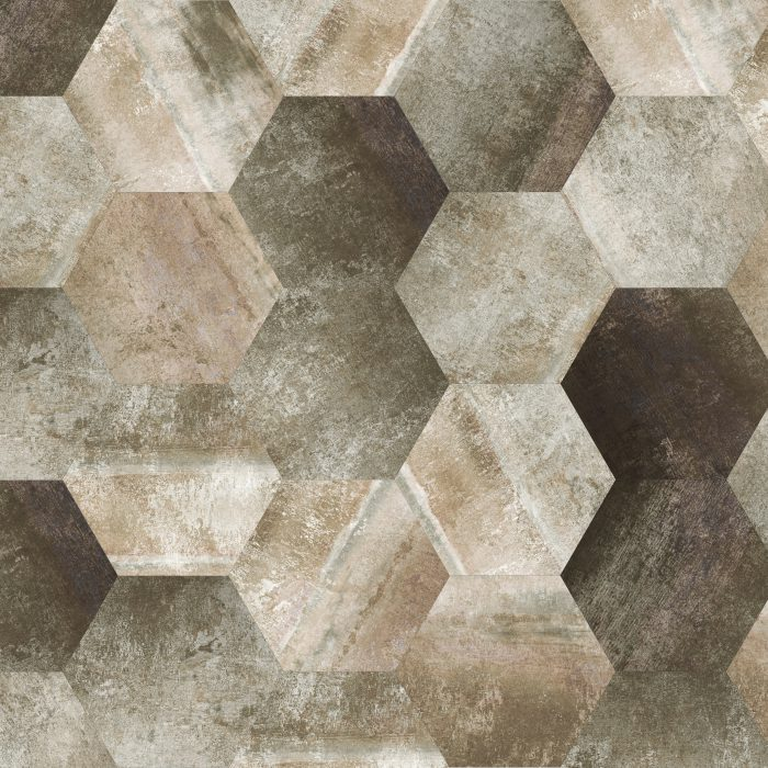 Tiles Morning Clay Hexagon 2