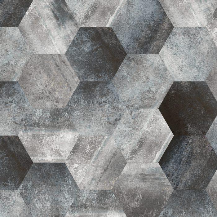 Tiles Morning Shimmer Hexagon