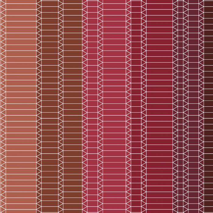 Zig Zag red by Edward van Vliet 207×207-72dpi