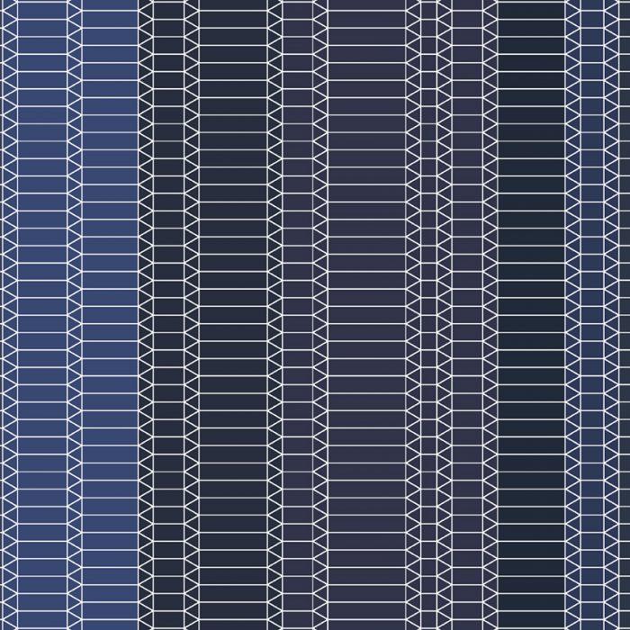 Zig Zag Blue by Edward van Vliet 207×207-72dpi