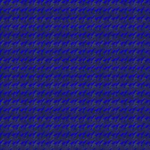 Houndstooth Blue